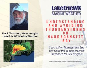 Avoiding Thunderstorms on Narragansett Bay @ Home at the Computer