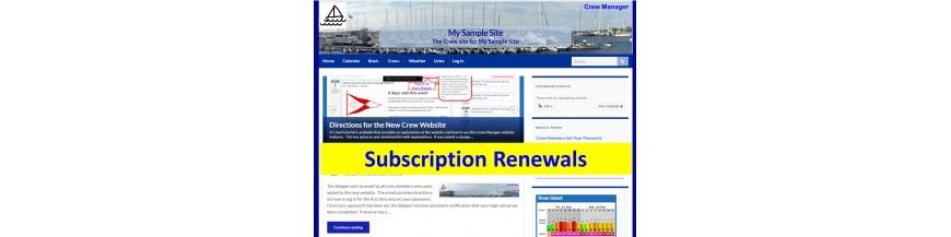 Subscription Renewals